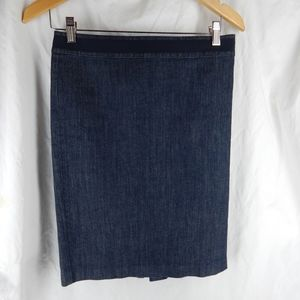 BODEN size 4 US 8 UK Jean Skirt dark wash classic